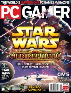 PC Gamer August 2010 cover