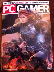PC Gamer 2011 May Cover