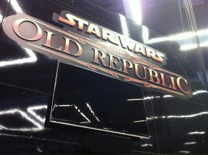 photo of SWTOR booth 914 at PaxPrime 2011 courtesy of @rockjaw