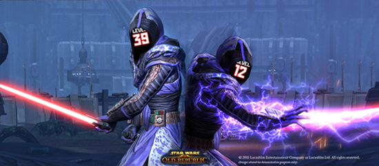 Swtor Life Rping Above Or Below Game Level