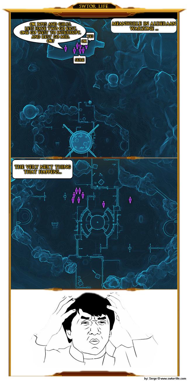 Alderaan Tactics webcomic