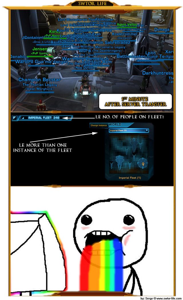 SWTOR server transfers meme