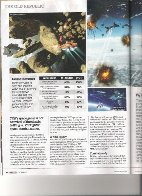PC Gamer Space Combat Article Page 3