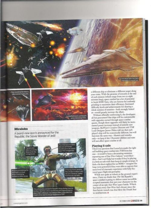PC Gamer Space Combat Article Page 7