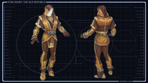 Jedi Knight Concept Art 1