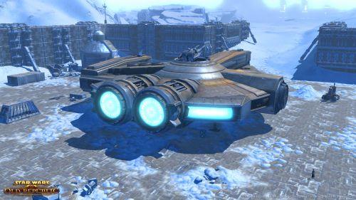 Smuggler Starship XS Stock Light 1