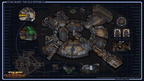 Smuggler Starship XS Stock Light Concept Art 2