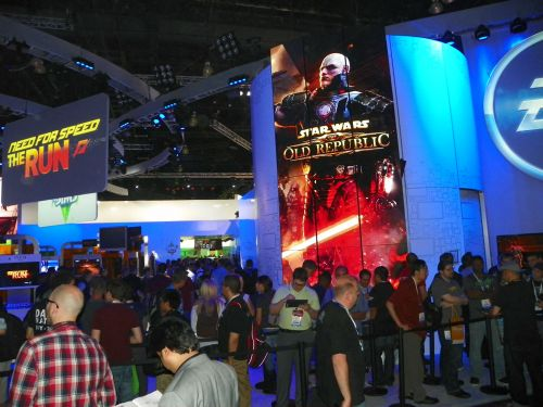 EA Booth And Lines